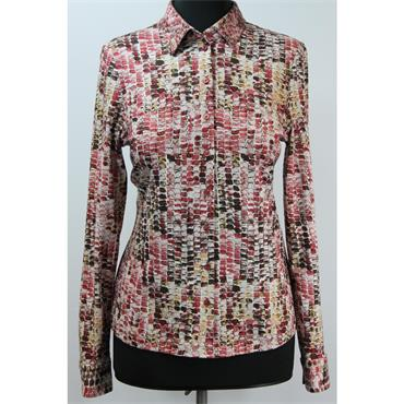 Erfo Abstract Print Blouse