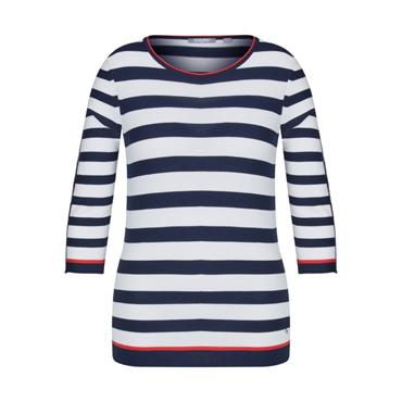 Rabe Round Neck Stripe Sweater
