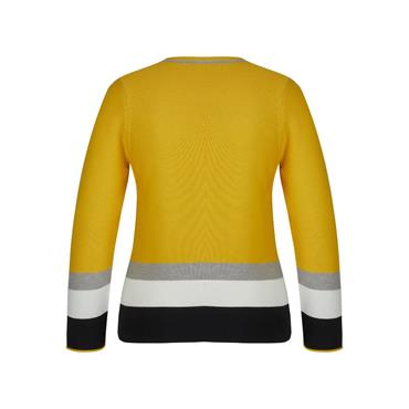 Rabe Mustard Sweater with Buttons