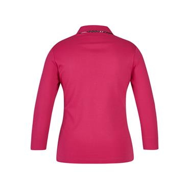 Rabe Jersey Style Collared Top