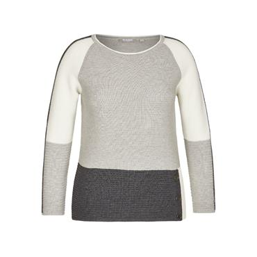 Rabe Grey Sweater with Button detail