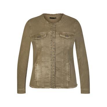 RABE Khaki Denim Jacket