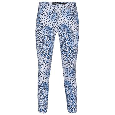 ROBELL Bella-09 Jean 7/8 length with Rear Pockets - Animal Print