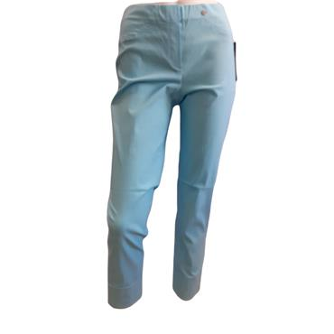 ROBELL Bella-09 Jean 7/8 length with Rear Pockets Light blue