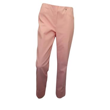 ROBELL Bella-09 Jean 7/8 length with Rear Pockets Pale Pink