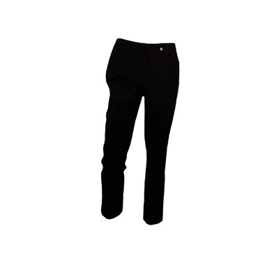 ROBELL Bella-09 Jean 7/8 length with Rear Pockets Black