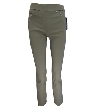 Robell Nena 09 Khaki Trousers