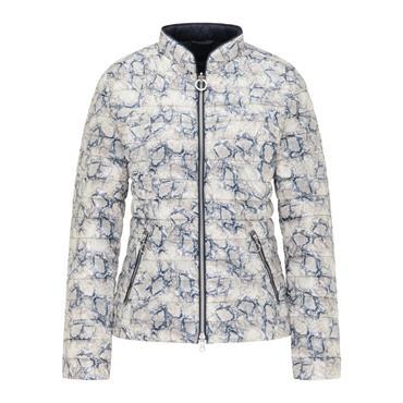 Barbara Lebek Navy / Paisley Print Reversible Jacket