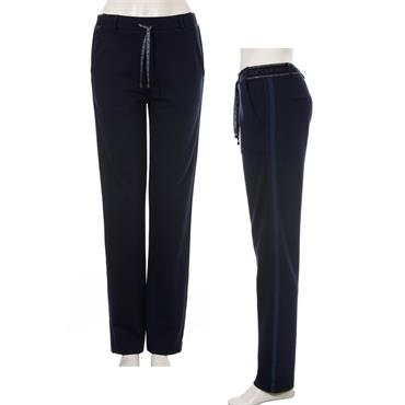 Navy Lounge Pants by Via Appia
