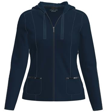 Barbara Lebek Navy Hooded Jacket