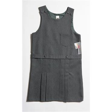 Hunter Grey School Pinafore