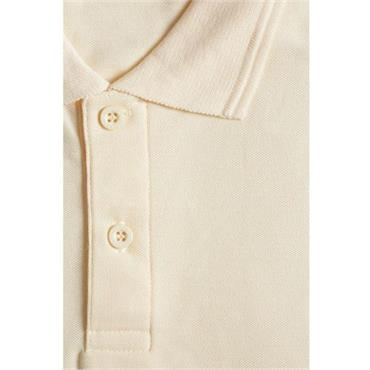 Hunter Cream Short Sleeve Polo Shirt