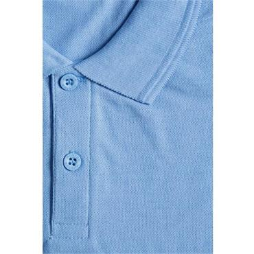 Hunter Blue Short Sleeve Polo Shirt