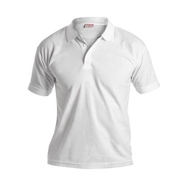 Hunter White Short Sleeve Polo Shirt
