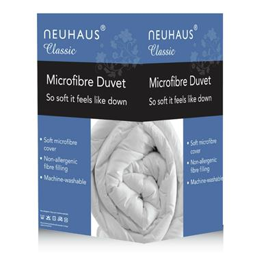 Neuhaus 13.5 Tog Microfibre Duvet