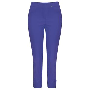ROBELL Bella-09 Jean 7/8 length with Rear Pockets - Royal Blue