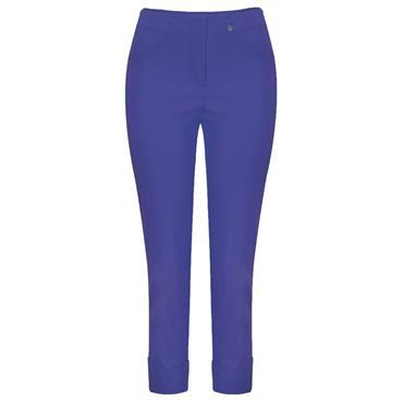 ROBELL Bella-09 Jean 7/8 length with Rear Pockets - Royal Blue