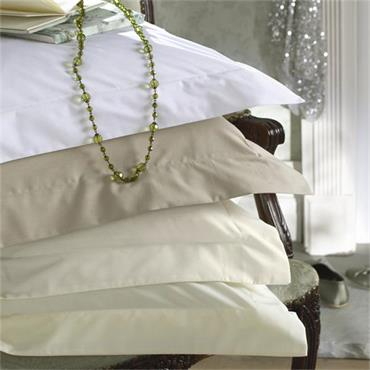 Dorma 300 Thread Sateen Cream Fitted Sheet
