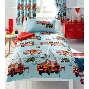 Fire Engines Duvet Set