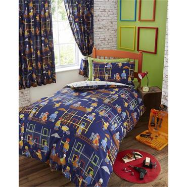 Building Site Duvet Set