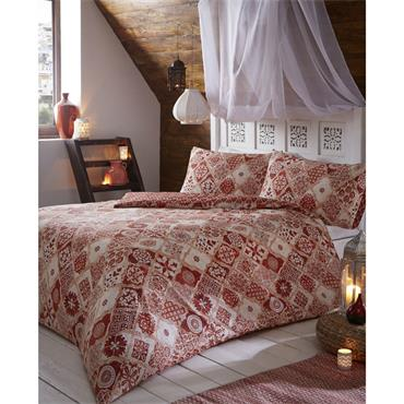Kasbah Duvet Set - Terracotta