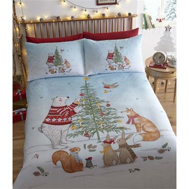 Night Before Christmas Duvet Set