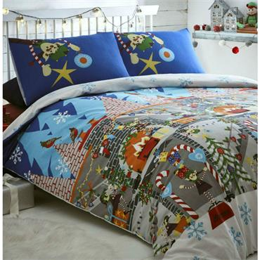 Elf Workshop Duvet Set