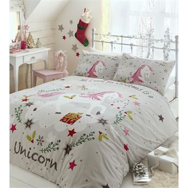 Wishing 4 Unicorns Duvet Set