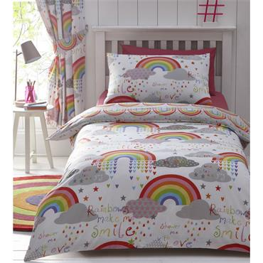 Clouds & Rainbows Duvet Set