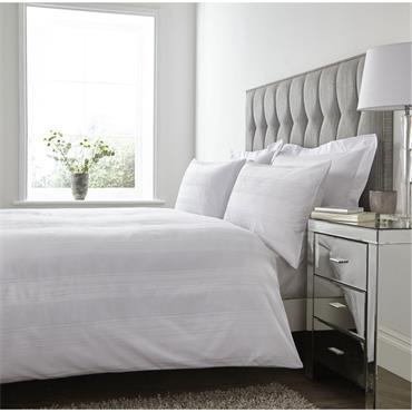 Mayfair Linen Consultant Egyptian Cotton White Duvet Set