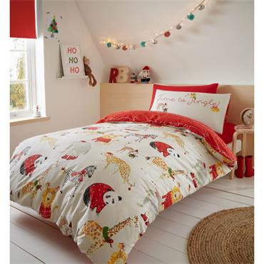 Jungle Bells Duvet Set