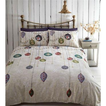 Vintage Christmas Duvet Set