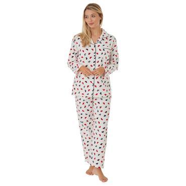Scottie Dog Pyjama Ivory