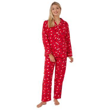 Scottie Dog Pyjama Red