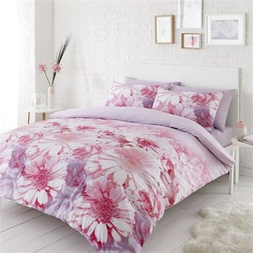 Catherine Lansfield Daisy Dreams Pink Duvet Set