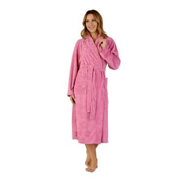 Slenderella Pink Dressing Gown