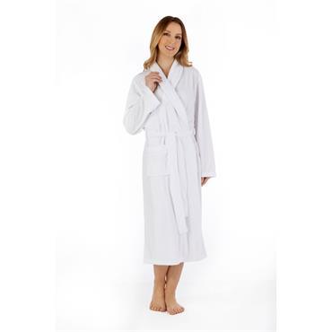 Slenderella White Dressing Gown