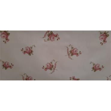 Pink Rose Oil Cloth