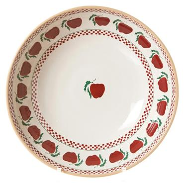 Apple Fruit Bowl by Nicholas Mosse Pottery