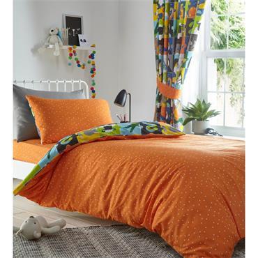Animal Jigsaw Duvet Cover Set - Single Bed