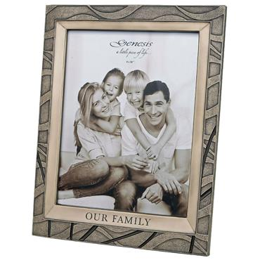 "Genesis Our Family Frame 10"" x 8"""