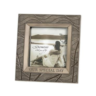 "Genesis Our Special Day Frame 5"" x 5"""