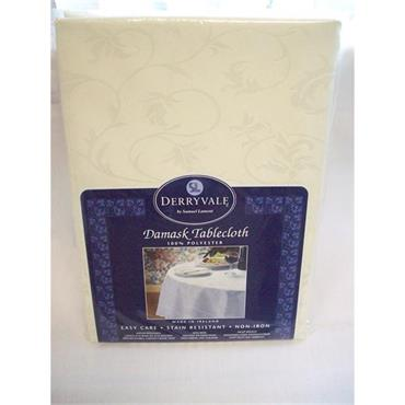 "Damask Tablecloth 54""x72"""