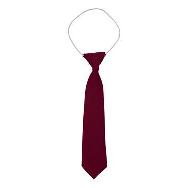 Plain Wine Elastic Tie
