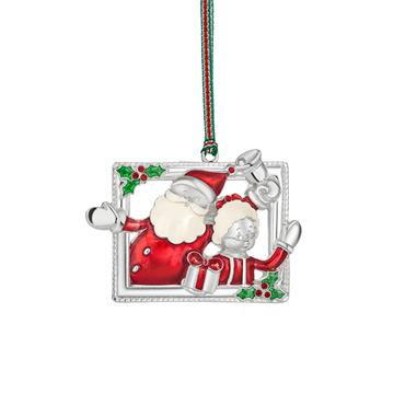 Mr and Mrs Claus Hanging Decoration