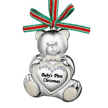Teddy Bear Baby's First Christmas