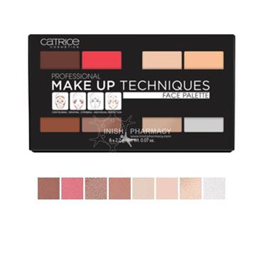 Catrice Professional Make Up Techniques Face Palette 010