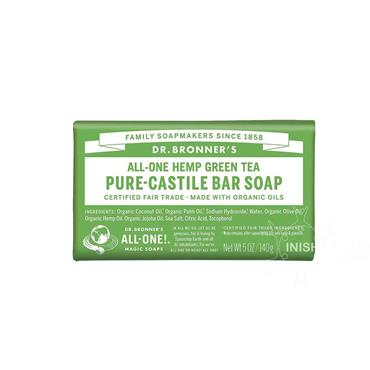 Dr Bronner's Hemp Green Tea Soap 140g