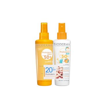 Bioderma Photoderm Max Spray SPF50 & Kids SPF50+ Duo Pack