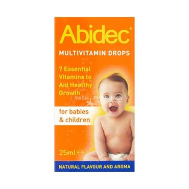 Abidec Multivitamin Oral Drops Solution for Babies & Children 25ml